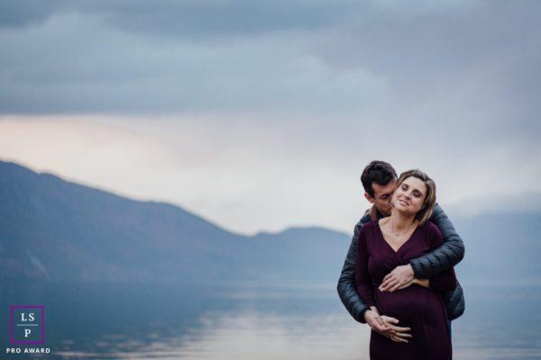 photographe grossesse future maman femme enceinte couple chambery savoie lac du bourget