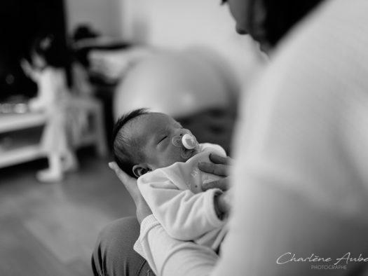 reportage nouveau-né à domicile chambéry