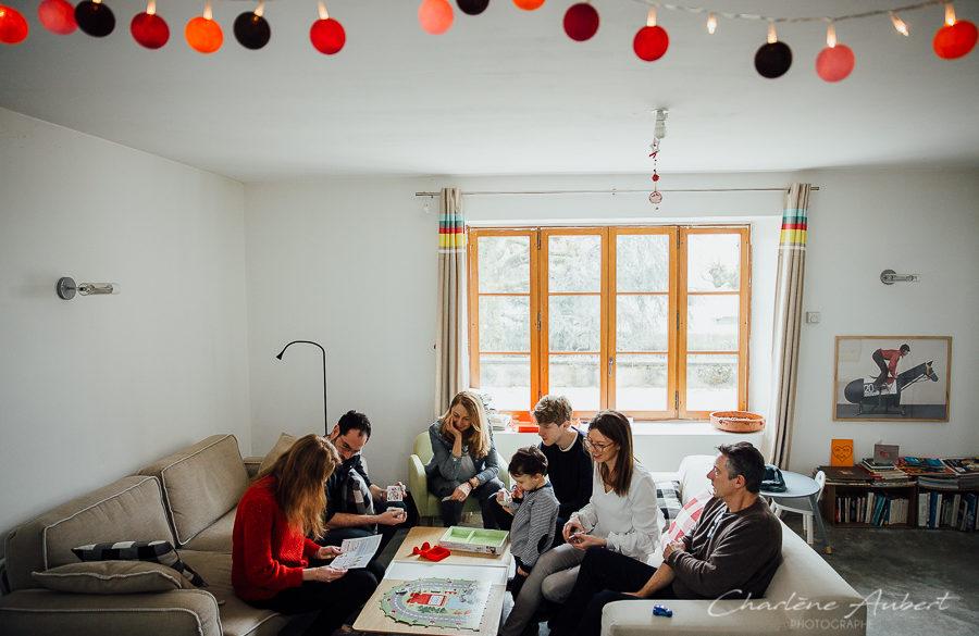 photographe séance photo famille lifestyle à domicile Chambéry