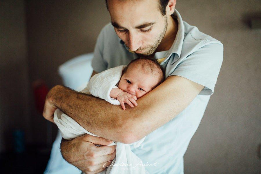 photographe nouveau-né bébé famille lifestyle à domicile savoie chambéry Charlène Aubert