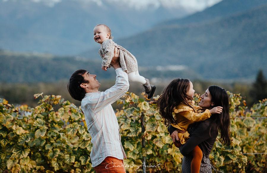 photographe famille nature exterieur savoie chambery